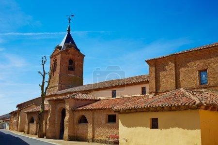 El burgo Ranero by Saint James Way in Leon