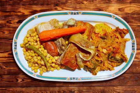 Cocido Maragato recipe of Biezo Leon in Spain