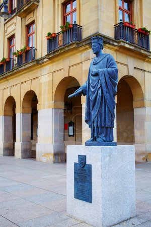 Pamplona Navarra Spain plaza del Castillo square