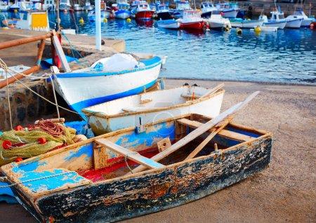 El Cotillo port  Fuerteventura Canary Islands