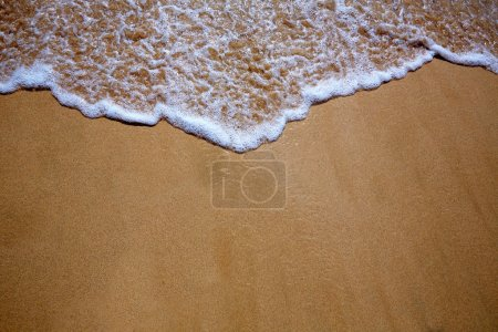 Canary Islands beach sand and wave texture
