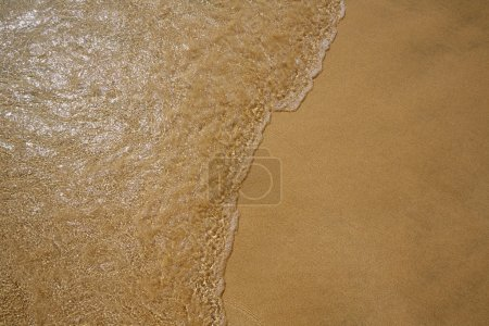Beach water and sand texture background