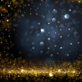 Christmas Background with bokeh effect Vector illustration