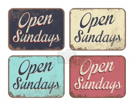 Open Sundays