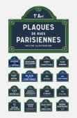 Paris street signs