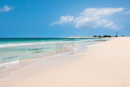 Chaves beach Praia de Chaves in Boavista Cape Verde - Cabo Verd