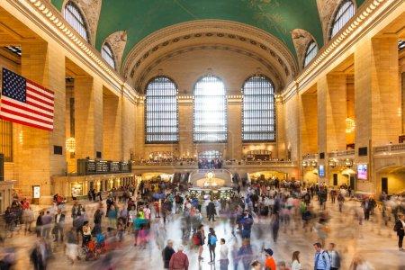Grand central train station in Manhattan New York - USA - United
