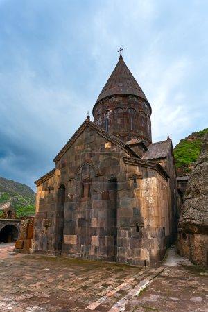 Christian temple GEGHARD monastery (Armenia)