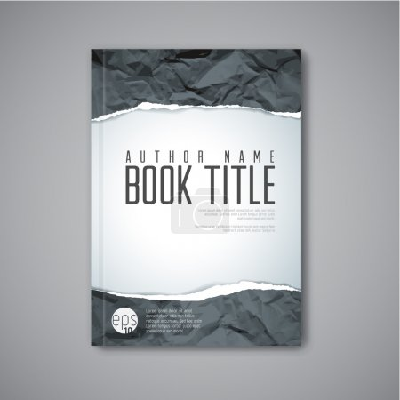 Modern Vector book cover template