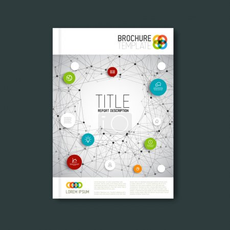 Modern abstract brochure