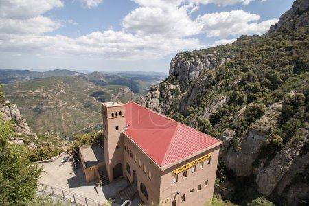Benedictine abbey in the Montserrat mountains
