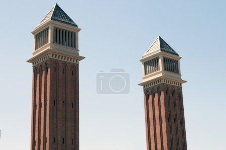 two Venetian Towers