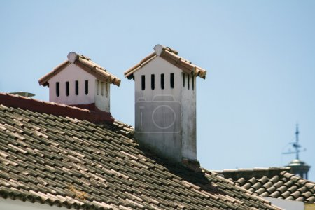 traditional spanish chimneys