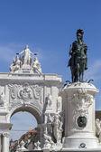 Famous Triumphal Augusta Arch