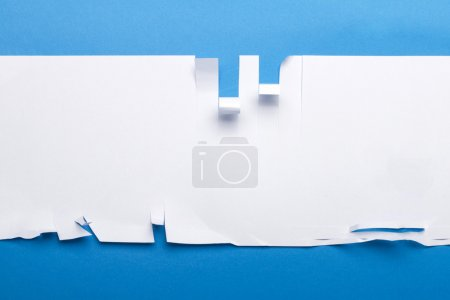 Piece of paper torn