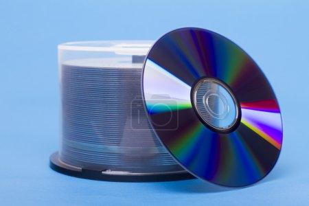 Bundle of virgin compact discs