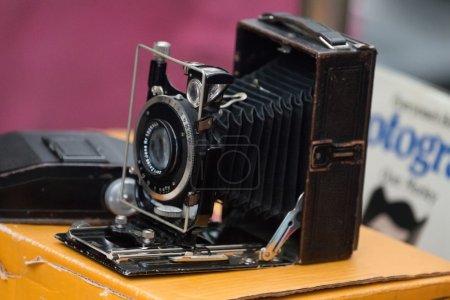 retro vintage photographic camera
