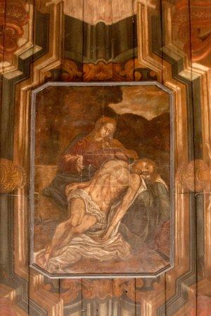 Old artistic depiction of Christ