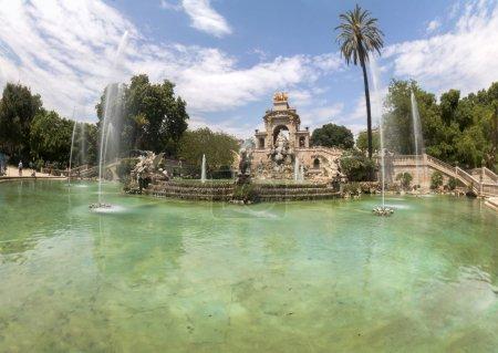 beautiful Citadel Park (Parc de la Ciutadella)
