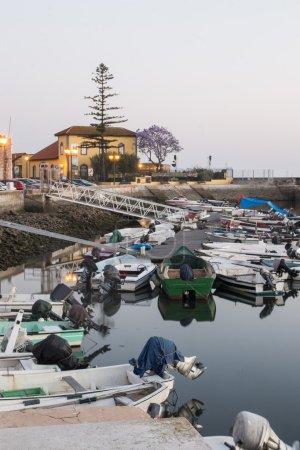 peaceful marina of Faro city