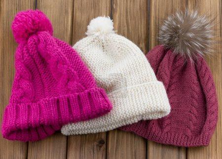 knit wool hats