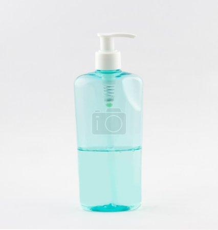 Plastic tube of shower gel