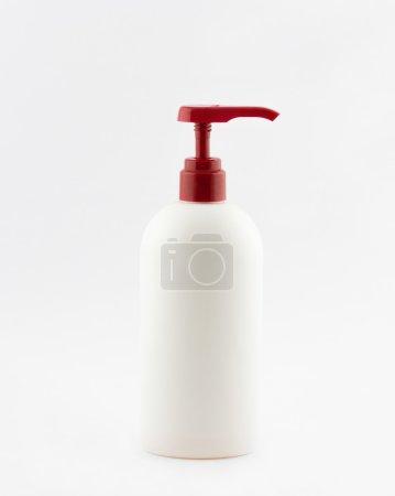 plastic tube of shampoo