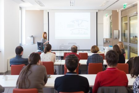 Conférence à l'Université