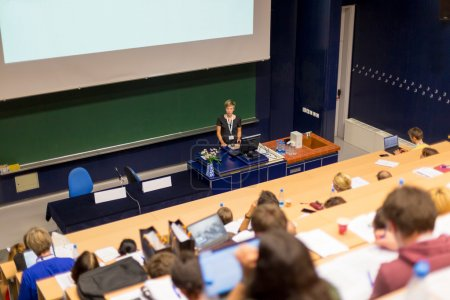 Lecture at university.