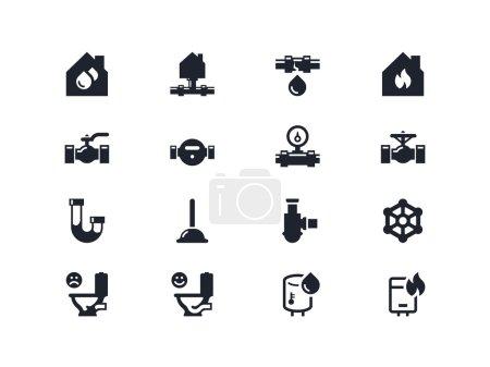 Home renovation icons. Lyra series