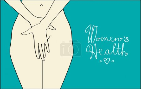 Vector illustration for womens reproductive medici...