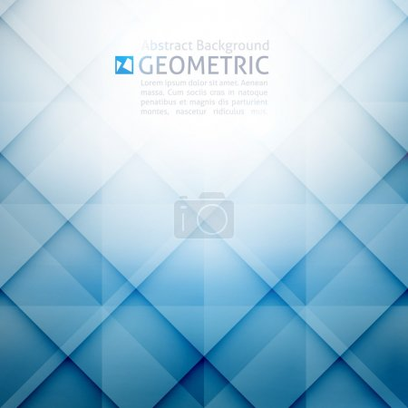 Vector geometric abstract background with rhombus ...