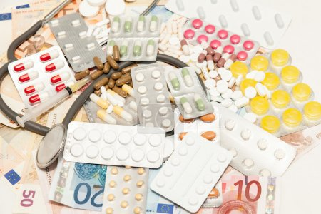 Health medications and money