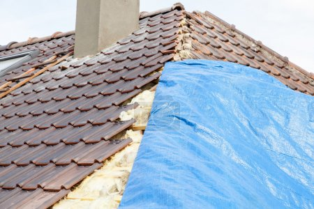 Renovation of  tiled roof