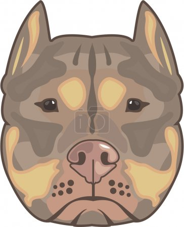 Pitbull vector eps