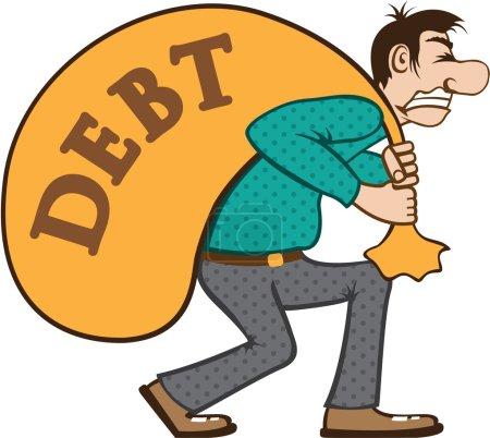 Debt pressure struggle