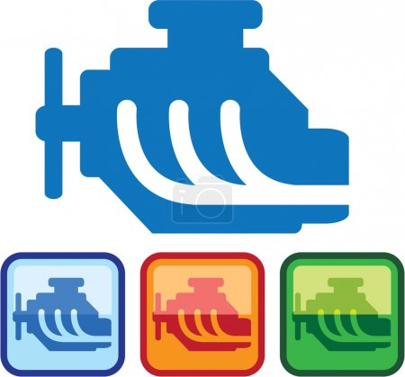 Engine Logo vector