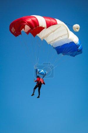 Photo pour Parachutiste - image libre de droit