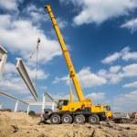 Mobile crane...