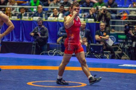 Match between Nazar Kulchytskyy, Titan Mercury Wre...