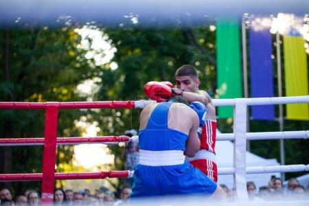 Chulyacheev Oleg versus Zhorzhik Marutyan during B...