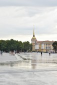 View of Palace Square and Admiralty.