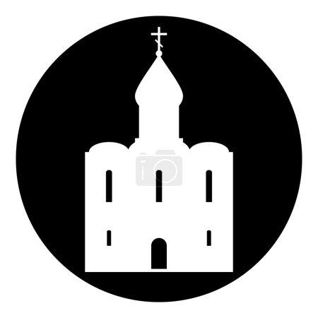 Orthodox church button.