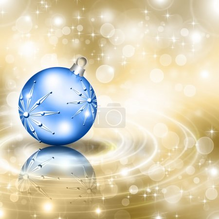 Background with Christmas baubles