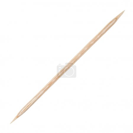 Wooden toothpick isolated on white  background...
