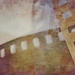 Grunge film strip background...
