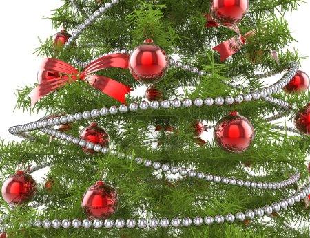 Photo pour Bright de décorations de Noël - image libre de droit