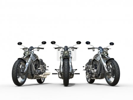 Three awesome vintage motorcycles