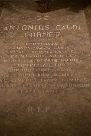 Tomb of Antonio Gaudi