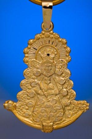 Precious golden Pendant